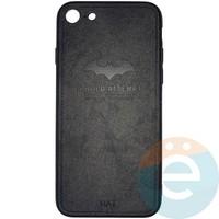 Накладка комбинированная BAT для iPhone 7/8 чёрная