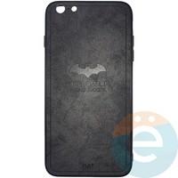 Накладка комбинированная BAT для iPhone 6 Plus/6s Plus чёрная