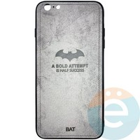 Накладка комбинированная BAT для iPhone 6 Plus/6s Plus серая