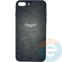 Накладка комбинированная BAT для iPhone 7 Plus/8 Plus чёрная