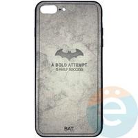 Накладка комбинированная BAT для iPhone 7 Plus/8 Plus серая