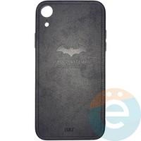 Накладка комбинированная BAT для iPhone XR чёрная