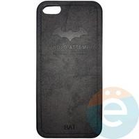 Накладка комбинированная BAT для iPhone 5/5s/SE чёрная