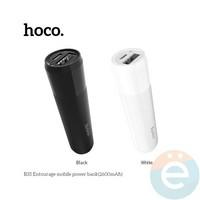 Дополнительный аккумулятор HOCO B35 1USB 2600 m/Ah белый