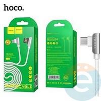 Usb Кабель HOCO U42 Exquisite Steel на Micro USB белый