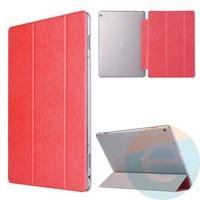 Чехол-книжка пластиковый для планшета Huawei MediaPad M3 10.1 красный