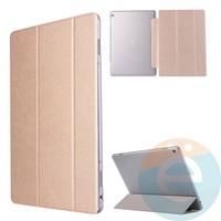 Чехол-книжка пластиковый для планшета Huawei MediaPad M3 10.1 золотистый