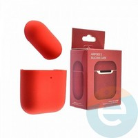 Чехол силиконовый для наушников Apple AirPods 2 ультра-тонкий hibiscus