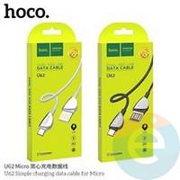 Usb Кабель HOCO U62 на Micro 2.4A 1,2m чёрный