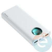 Дополнительный аккумулятор Baseus PPLG-02 4USB 30000 m/Ah белый