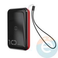 Дополнительный аккумулятор Baseus PPXFF10W-19 1 USB 10000 m/Ah чёрный