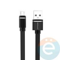 USB кабель Konfulon S76 на micro USB 1м чёрный