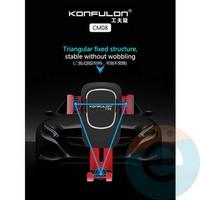 Автомобильный держатель Konfulon CM08 в воздуховод красный