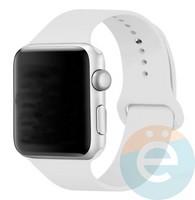 Силиконовый ремешок для Apple Watch 42/44 mm (M) White 2