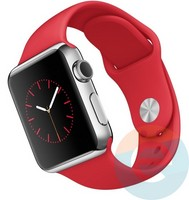 Силиконовый ремешок для Apple Watch 38/40 mm (M) Red 6
