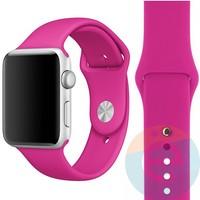 Силиконовый ремешок для Apple Watch 42/44 mm (S) Barbie Pink 30