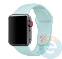 Силиконовый ремешок для Apple Watch 42/44 mm (M) Marine Green 34