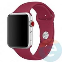 Силиконовый ремешок для Apple Watch 38/40 mm (M) Rose Red 32