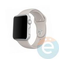 Силиконовый ремешок для Apple Watch 42/44 mm (M) Pebble 33