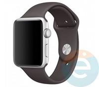 Силиконовый ремешок для Apple Watch 42/44 mm (M) Cocoa 25