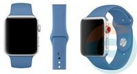 Силиконовый ремешок для Apple Watch 42/44 mm (S) Denim Blue 36