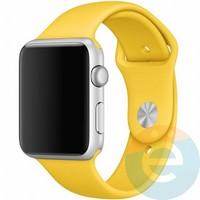 Силиконовый ремешок для Apple Watch 42/44 mm (M) Yellow 16