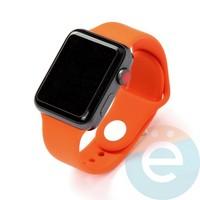 Силиконовый ремешок для Apple Watch 42/44 mm (S) Orange 7