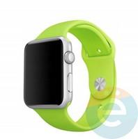 Силиконовый ремешок для Apple Watch 42/44 mm (S) Green 4