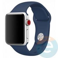 Силиконовый ремешок для Apple Watch 38/40 mm (M) Blue Cobalt 28