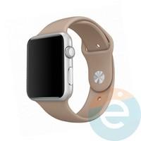 Силиконовый ремешок для Apple Watch 42/44 mm (M)Walnut 15