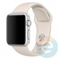 Силиконовый ремешок для Apple Watch 42/44 mm (M) Antique White 13