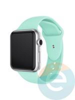 Силиконовый ремешок для Apple Watch 42/44 mm (M) Turquoise 35