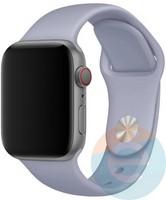 Силиконовый ремешок для Apple Watch 42/44 mm (M) Fog 12
