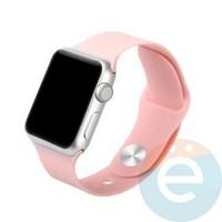 Силиконовый ремешок для Apple Watch 38/40 mm (S) Light Pink 17