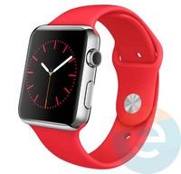 Силиконовый ремешок для Apple Watch 42/44 mm (M) Red 6