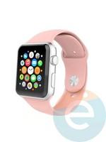 Силиконовый ремешок для Apple Watch 42/44 mm (M) Pink 5