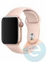 Силиконовый ремешок для Apple Watch 42/44 mm (M) Pink Sand 23