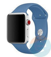 Силиконовый ремешок для Apple Watch 42/44 mm (M) Denim Blue 36