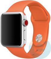 Силиконовый ремешок для Apple Watch 42/44 mm (M) Orange 7
