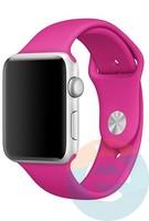 Силиконовый ремешок для Apple Watch 38/40 mm (S) Barbie Pink 30