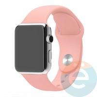 Силиконовый ремешок для Apple Watch 42/44 mm (M) Vintage Rose 9