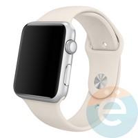 Силиконовый ремешок для Apple Watch 42/44 mm (M) Stone 14