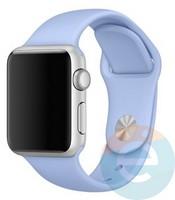 Силиконовый ремешок для Apple Watch 38/40 mm (M) Lilac 19
