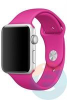 Силиконовый ремешок для Apple Watch 42/44 mm (M) Barbie Pink 30