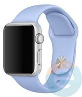 Силиконовый ремешок для Apple Watch 42/44 mm (M) Lilac 19