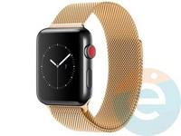 Металлический ремешок Milanese Band для Apple Watch 42/44  mm золотистый