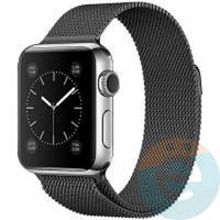 Металлический ремешок Milanese Band для Apple Watch 42/44 mm серый