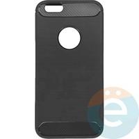Накладка силиконовая Carbon 360 на Apple IPhone 6/6s серая