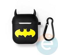 Чехол силиконовый для наушников Apple AirPods Batman 40