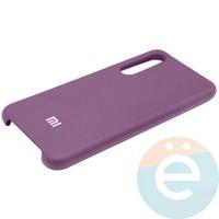Накладка Silicone cover на Xiaomi Mi 9 фиолетовая 36